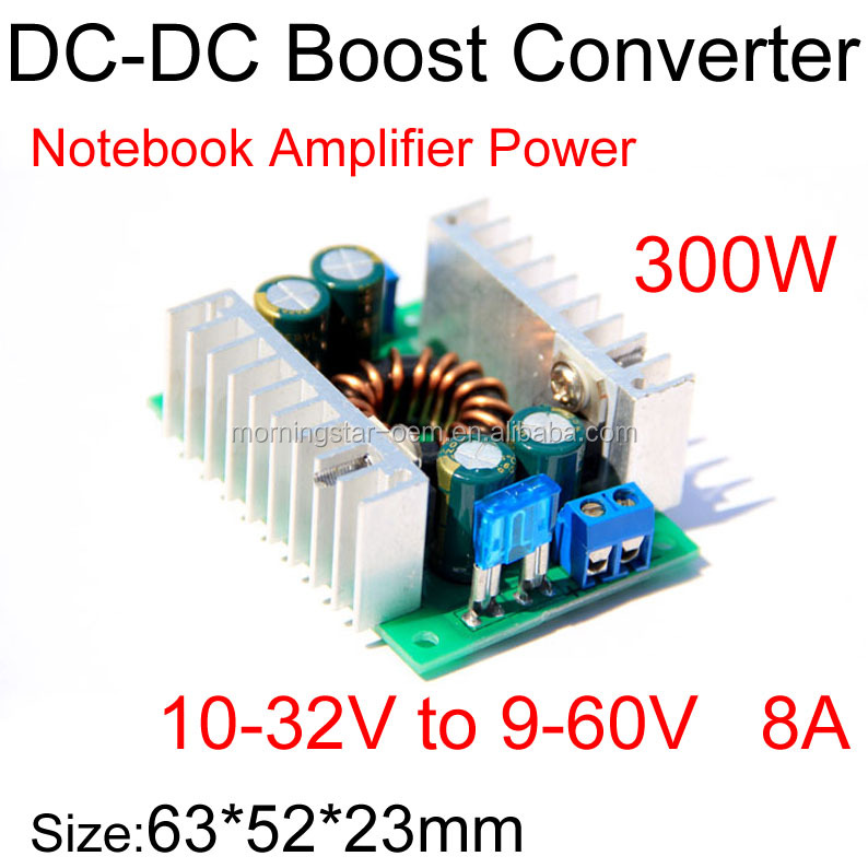 Power amplifier Computer power supply module Voltage regulator constant output voltage for 12V 30V 28V 24V 60V battery charging