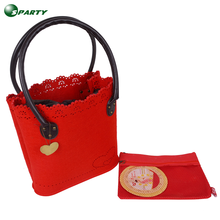 Wholesale high quality felt baby diaper bag 2017