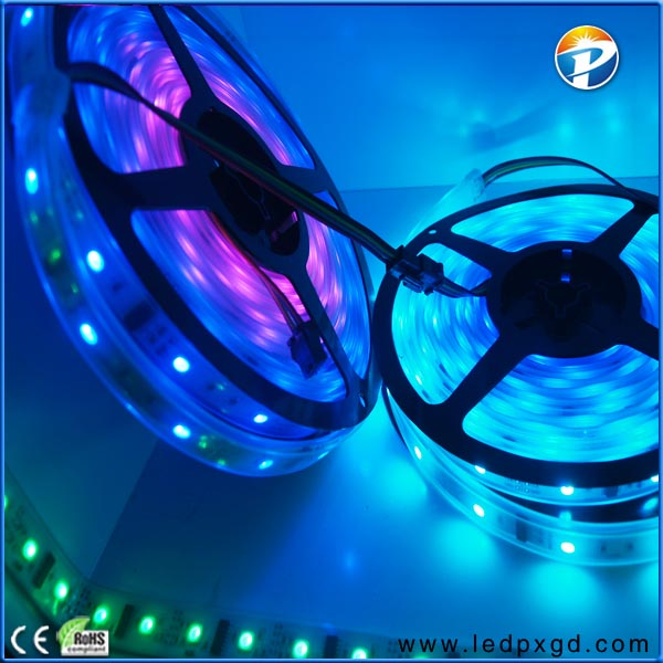 5050 rgb dream color 6803 ic led strip light 94 with CE ROHS