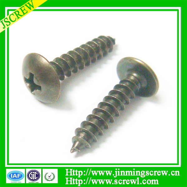 M4 Mazda supplier Jiming screw for truss head self tapping screw