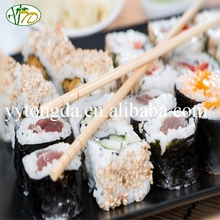 China gold manufacturer hot sale promotion sushi bamboo chopsticks in bulk