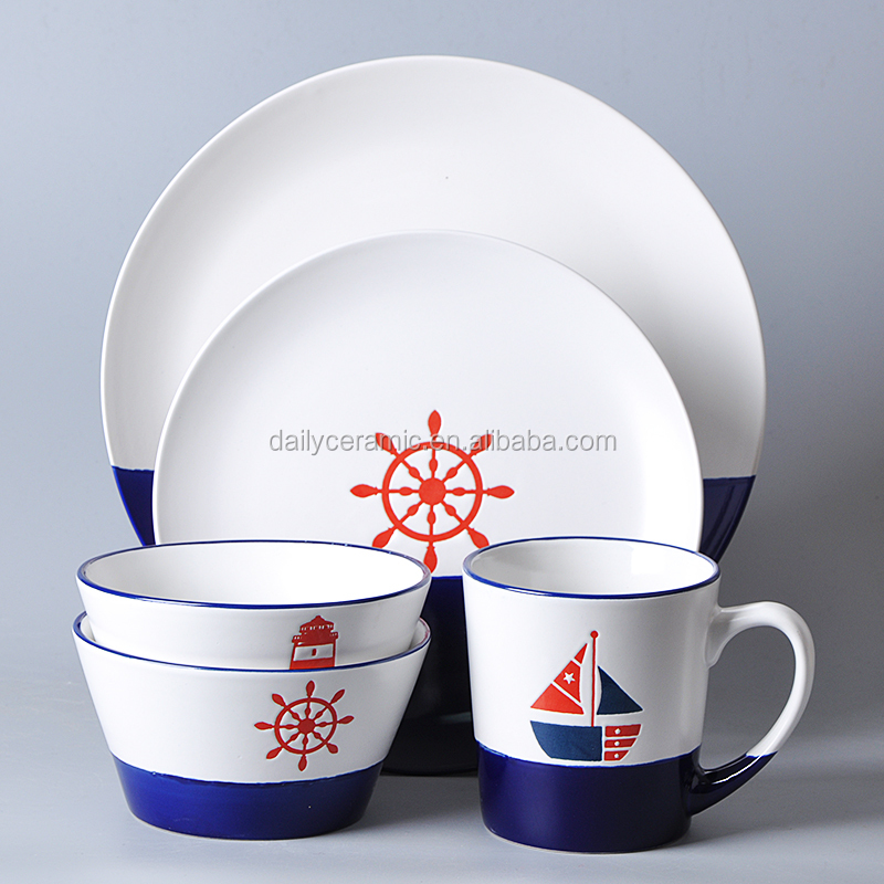 Modern porcelain wedding restaurant crockery with best quality dinner set