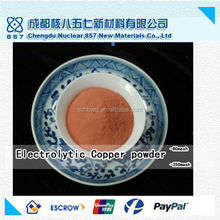99.8 % min outlet price Electrolytic Copper Powder