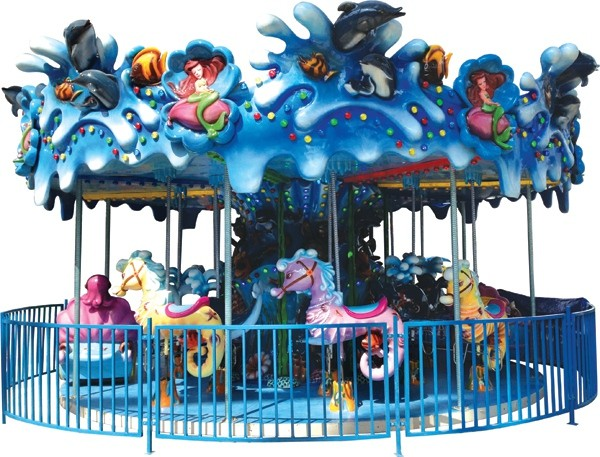 Popular sale carousel horse for sale,amusement park kids carousel ride with high quality