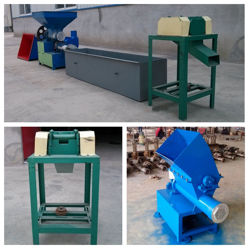 eps foam densifier hot melt recycling machinery