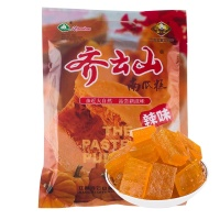 Chinese healthy pumpkin spicy gummy snack food