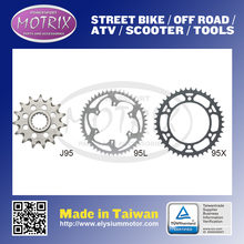 Silver lighten version 51 teeth rear sprocket without grooving