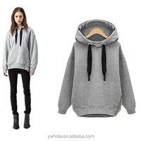 High Quality Loose Hooded Jacket Plus Size Thick Long sleeve Korean Style Hoodies