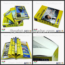 upmarket business yellow pages print China 2014