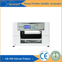 multi purpose a3 size offset plastic chip card printer eco solvent printing machine for sale