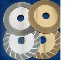 Golden color Electroplating Diamond cutting blade diamond grinding blade