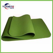 Eco-friendly anti slip yoga mat with carry strap easy washable Yoga Mat Personalized