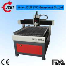 Mini wood lathe JCUT-6090A/small cnc router machine for cutting