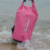 500D pvc 10L Pink beach dry bag for swim