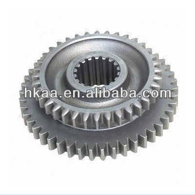 Motorcycle Gear, Custom Vehicle Transmission Gear and Shaft Die-casting Mamufacturer