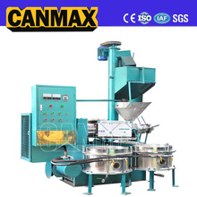 2017 High Efficiency hot and cold press groundnut&coconut oil processing machine