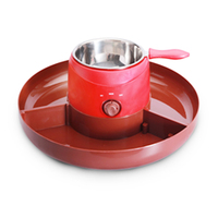 Hot selling plastic pot melt mini chocolate Electric Fondue Set