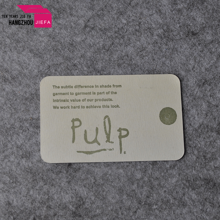 directly factory plastic hand tag