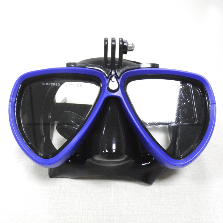 Underwater Camera Diving Mask Scuba Snorkel Swimming Goggles for GoPro Sports Camera