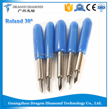 Guanghzhou Roland cutting blade 30 degree ,10pcs Roland Plotter Blade for Roland cutting plotter.