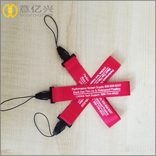 Promotional items polyester short wrist lanyard