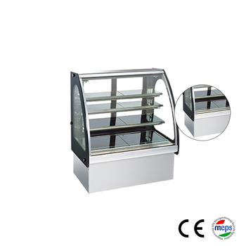 Professional commercial display cake refrigerator showcase