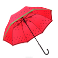 2017 New Design Straight Watermelon Umbrella