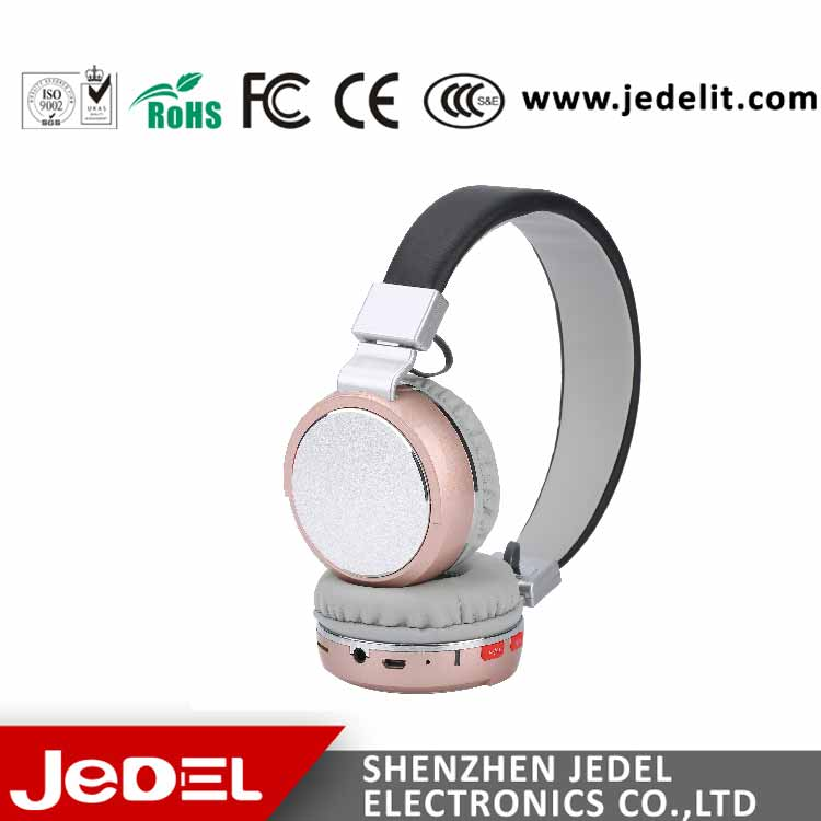 Newest Stereo Wireless Bluetooth Earphone Custom Branded Headphones
