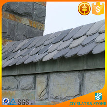 Black slate antique chinese roof tiles/roof cover material