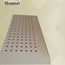 certificate SGSs perforated glass fiber board wall panels