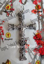 alloy religious cross pandant / antique silver cross/ crucifix special offer