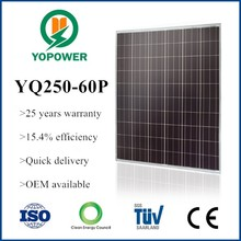high efficiency suntech solar panels 250w
