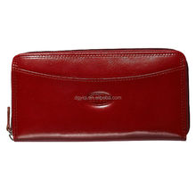 WL235 High quality, long calfskin leather wallet/purse for women