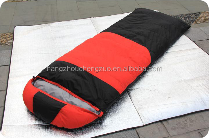 -20 degree 2.6kg Duck Down Portable Camping Envelope Sleeping Bag,CZH-020 Portable Winter Warmth Duck Down Sleeping Bag
