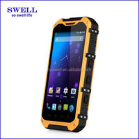 Waterproof GPS 3G Wifi A9 mt65xx android phone rugged android phone with usb otg NFC smart phones