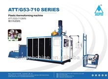 Plastic Yogurt Cup Thermoforming machine about Model ATTG53-710