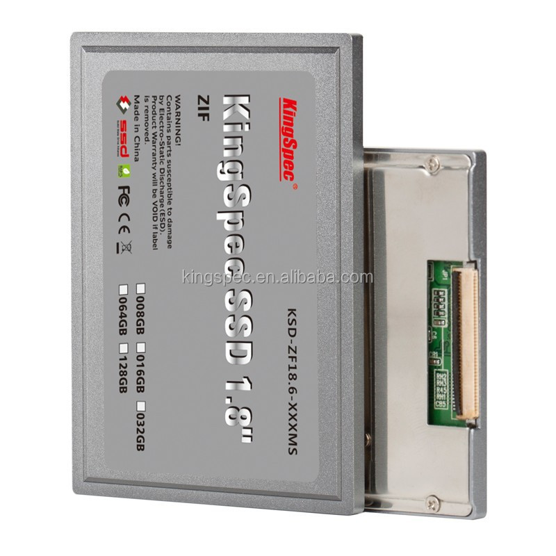 KingSpec SSD 32GB 1.8 inch ZIF (IDE 40pin) Hard Drive for ACER Aspire1 110