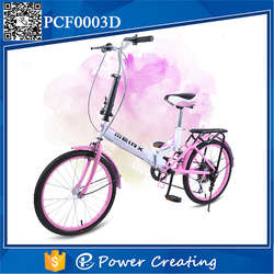 Factory Price 20 Inches Folding Bike Alloy Tricycle Hot Sale