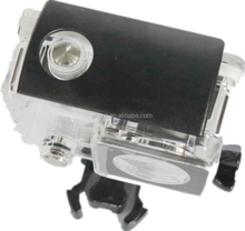 New for GoPro Hero 3+/4 30M waterproof housing case with bracket for GoPro Hero 3+/4