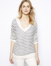 Women's Oversized Stripe Jumper