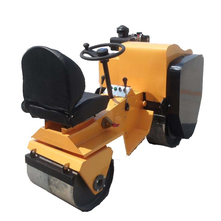 Changfa diesel engine asphalt paver mini road roller