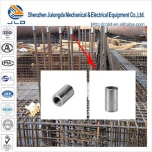 Parallel threaded Steel Rebar Mechanical Coupler for bar End Upsetted and Threaded