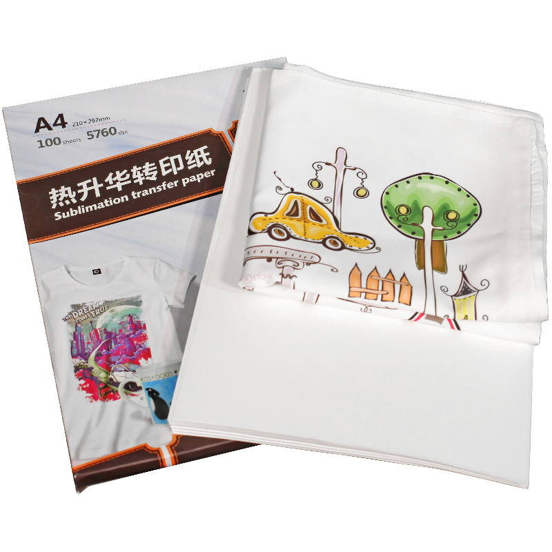 Factory price 50gsm,80gsm,100gsm heat sublimation transfer paper