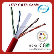 Lan Cable Factory Offer Twisted Pair Indoor Cat 6 UTP Cable