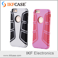 Best Selling Full Protective Shockproof Rugged TPU PC Hybrid Combo Mobile Phone Cover for iphone 6