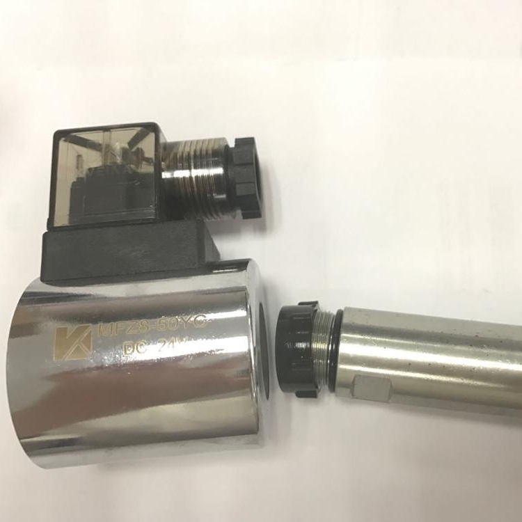 hydraulic solenoid valve coil MFZ10-60Y for 4WE6 , DSG01 02 valve coils inner <strong>hole</strong> 23.2mm/23mm , height 51mm