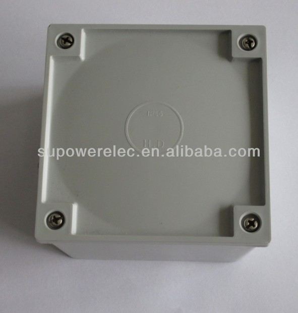 Australia Standard Conduit Fitting Plastic Adaptable Junction Box