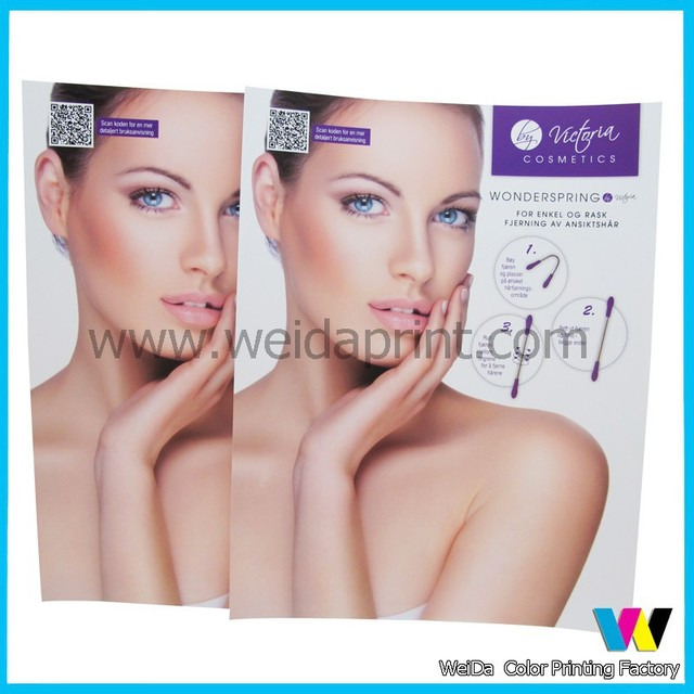 china high quality custom cosmetic catalog