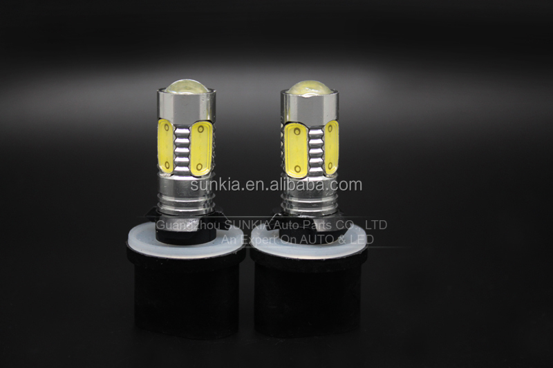 Auto parts 7.5w 12v 880 auto car Led fog light bulb