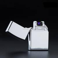 Sliver Cigarette Lighter Smoking Accessories Electric